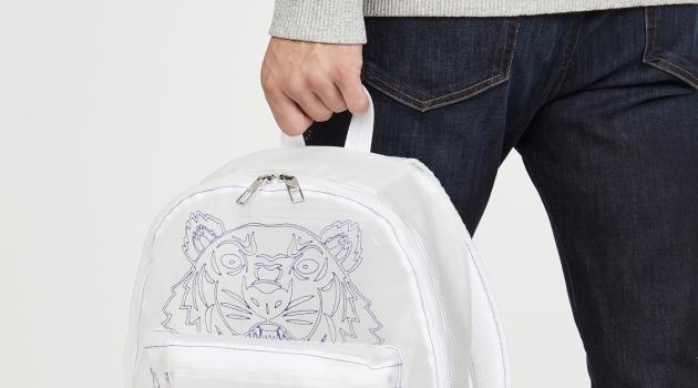 Kenzo Kampus See Through Backpack
