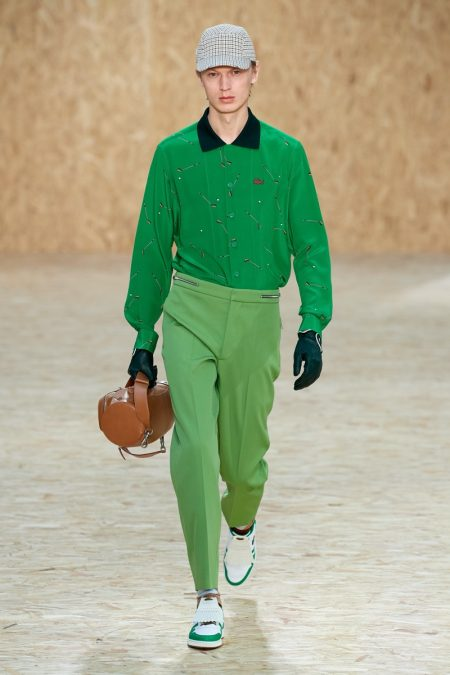 Lacoste Embraces Colorful Golf Style for Fall '20 Collection