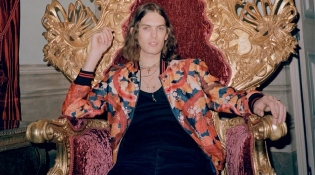 Lorenzo Embraces Rock-Inspired Style for GQ Russia