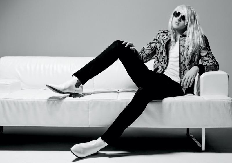 Natalia Vodianova's Son Lucas Dons Luxe Statements for Numéro Homme