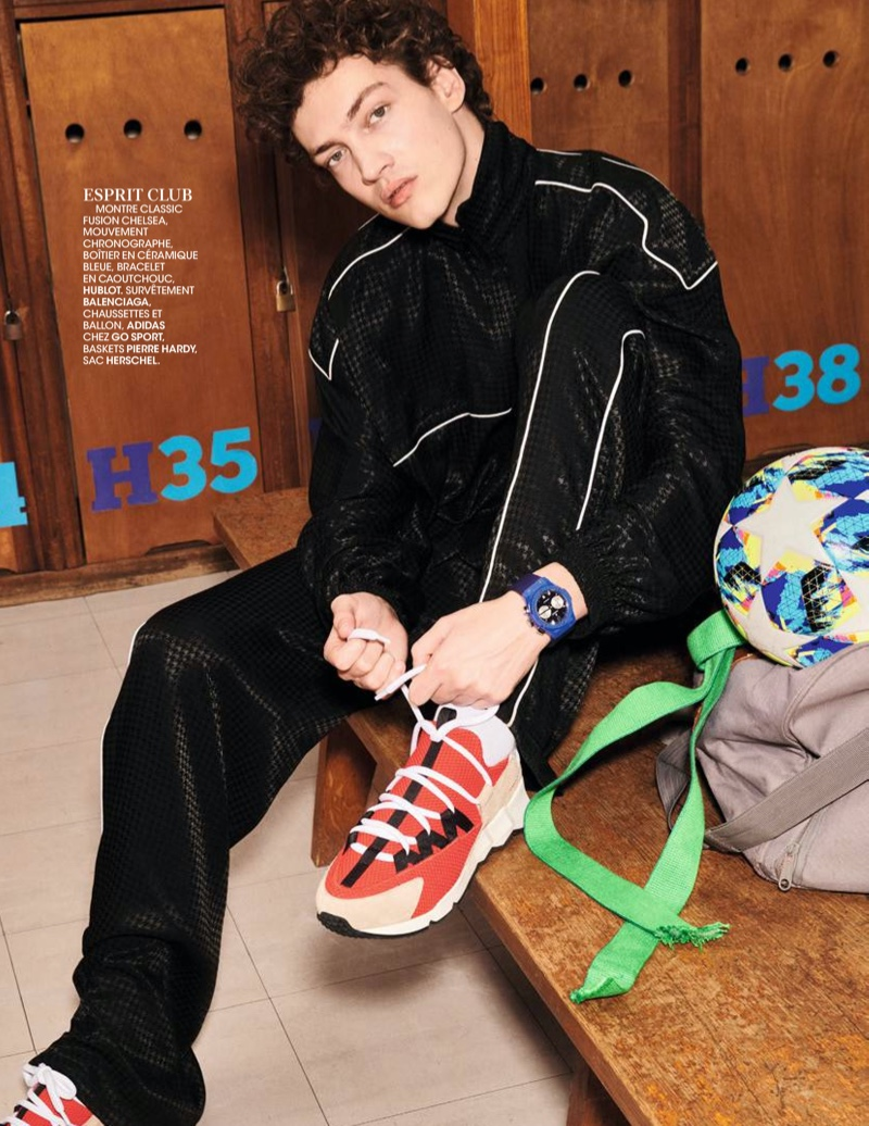 Swann, Jester + More Go Sporty for Madame Figaro