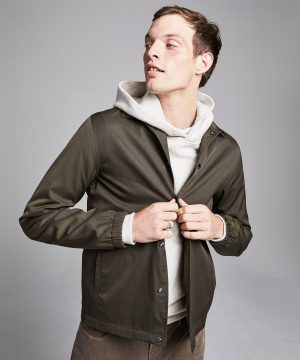 Made in New York Coach's Jacket in Olive Drab