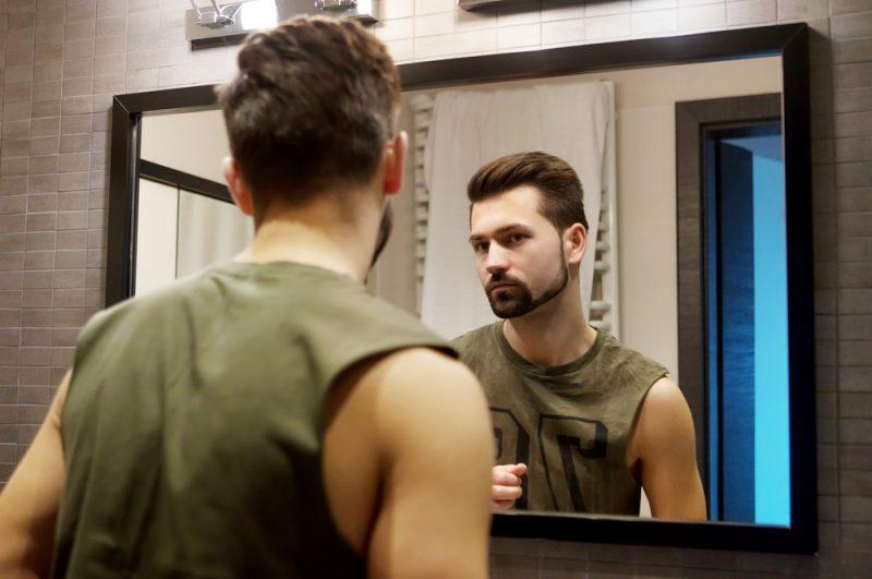 Man Bathroom Mirror