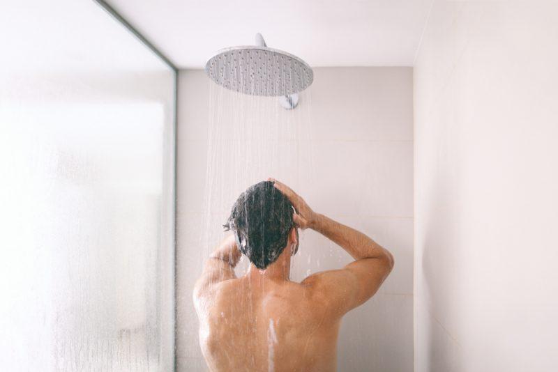 Man Rainfall Shower