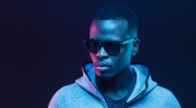 Man in Sunglasses and Hoodie