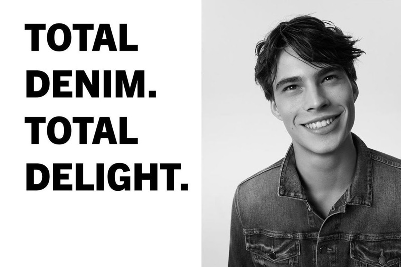 Marc O'Polo enlists Louis Baines as the star of its spring-summer 2020 denim campaign.