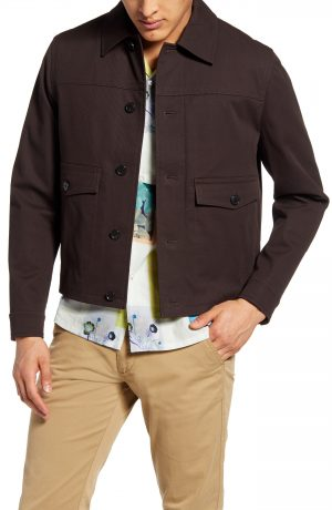 Men's Club Monaco Short Twill Jacket