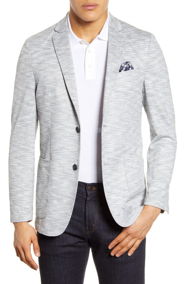 Men's Vince Camuto Stretch Performance Sport Coat, Size Small - Grey
