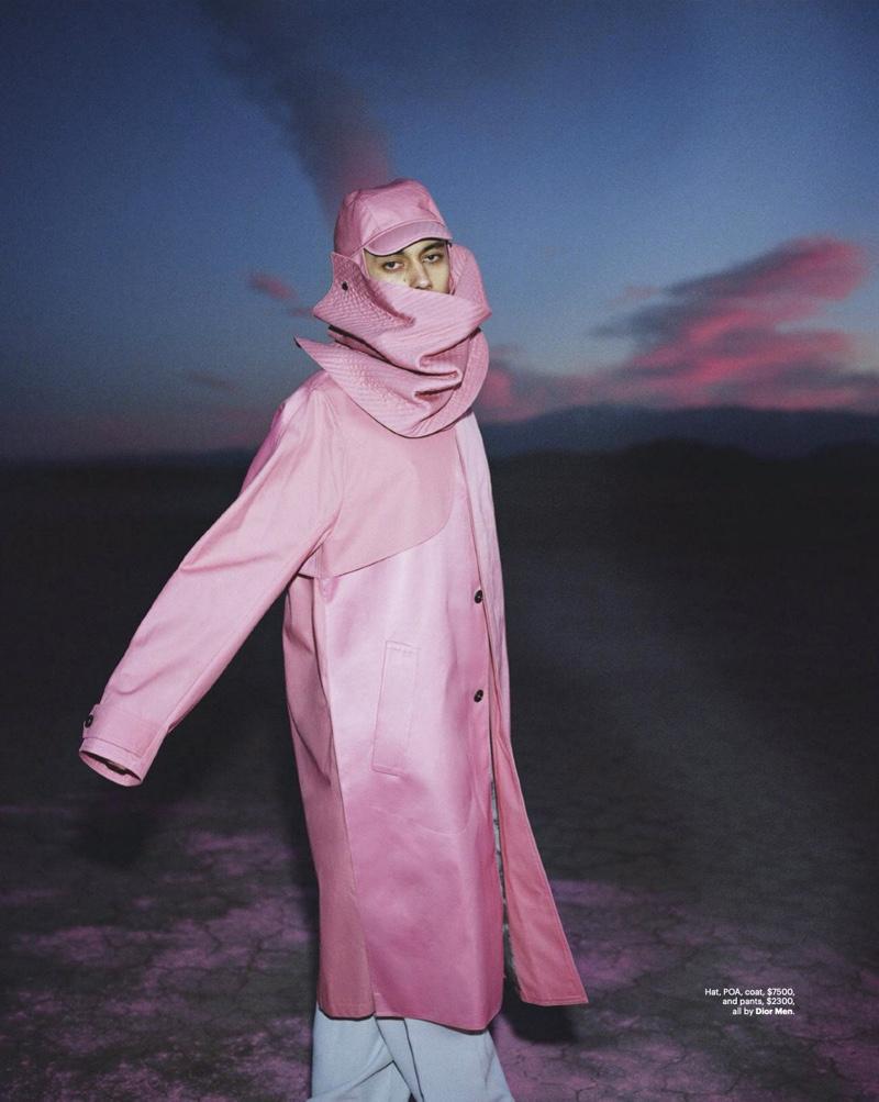 Desert Daze: Miles Rogers for GQ Australia