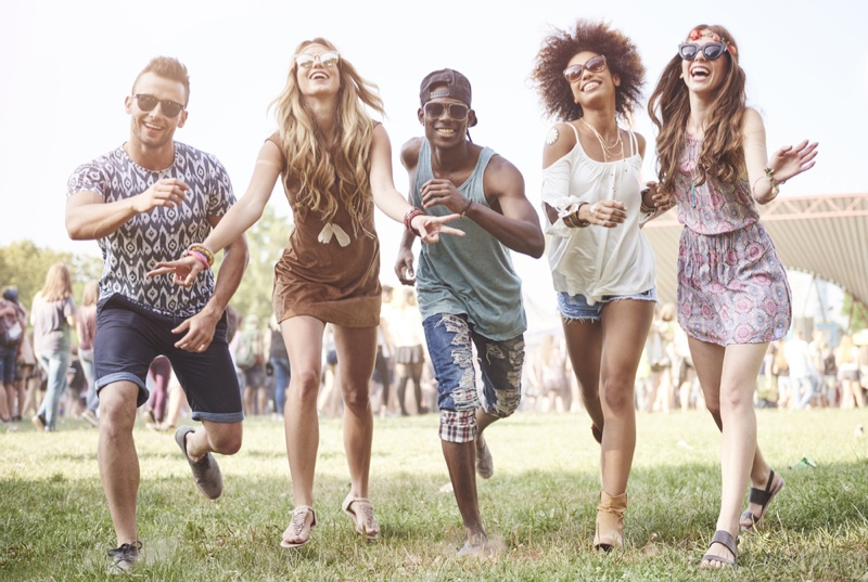 Music Festival Fashion Women Men Style Outfits