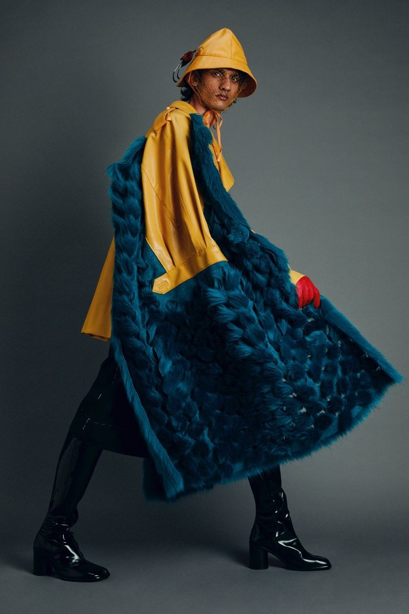 Mustafa Goes Couture in Maison Margiela for GQ Middle East