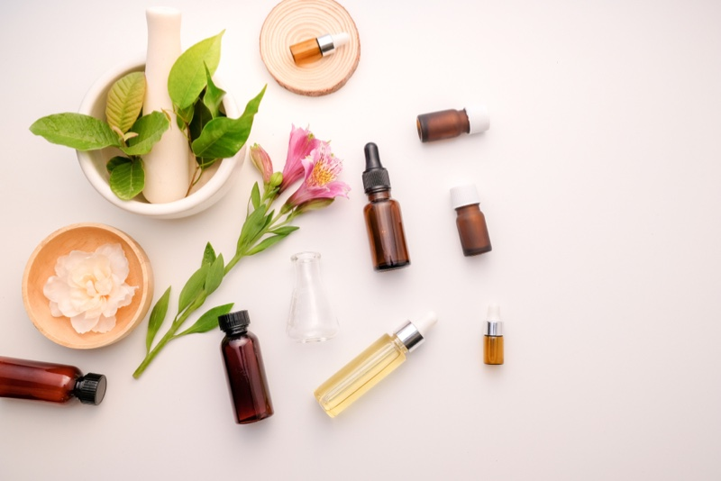 Oil Beauty Aromatherapy Concept