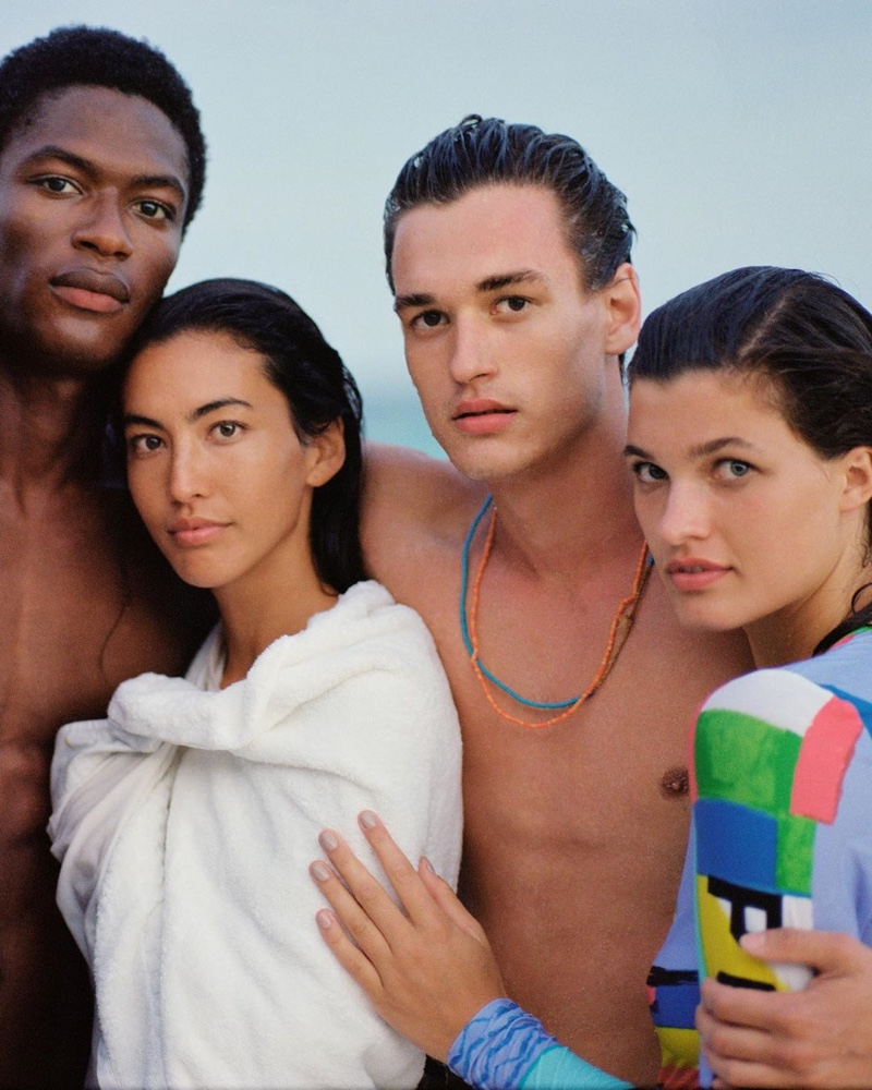 POLO Ralph Lauren takes to Bermuda for the season, reuniting with models Hamid Onifade and Jegor Venned.