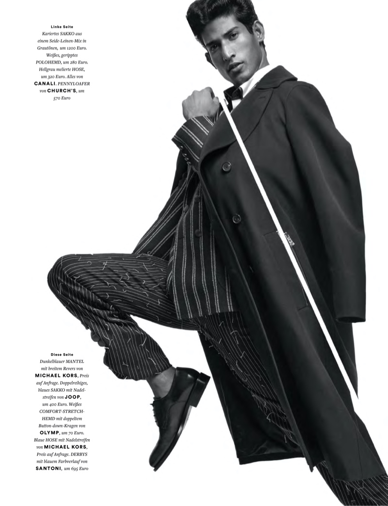 Cut Walk: Pranav for Men's Health Germany Best Fashion