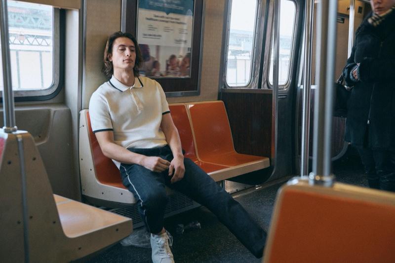 James Turlington fronts Rag & Bone's spring-summer 2020 campaign.