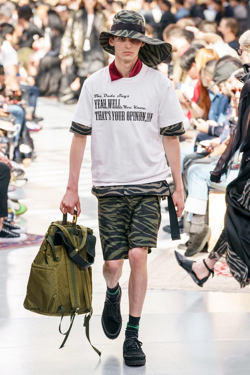Sacai Spring 2020 Menswear