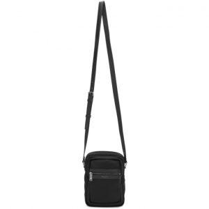 Saint Laurent Black Canvas Sid Crossbody Bag