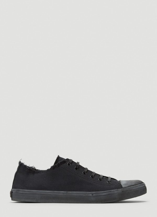 Saint Laurent Distressed Sneakers in Black size EU - 45