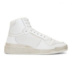 Saint Laurent Off-White Used-Look SL24 Sneakers