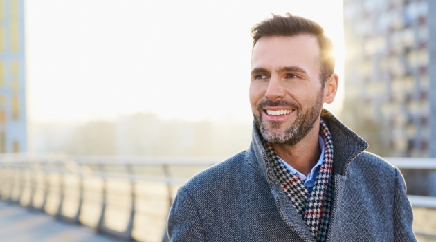 Smiling Attractive Older Man