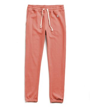 Terry Classic Sweatpant in Orange Russet