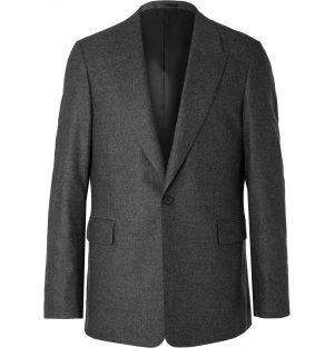 The Row - Grey Mason Mélange Wool-Blend Suit Jacket - Men - Gray