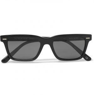 The Row - Oliver Peoples BA CC Square-Frame Acetate Sunglasses - Men - Black