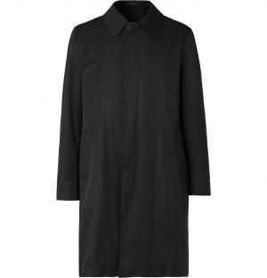 The Row - Thomas Tech-Cotton Overcoat - Men - Black