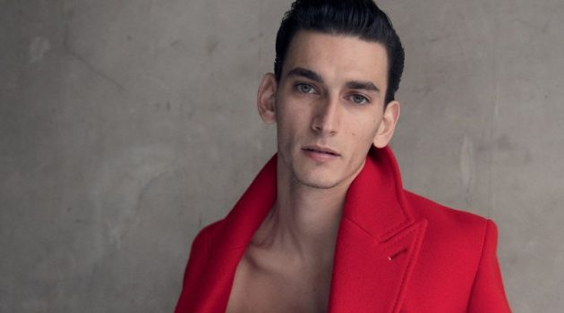 Thibaud Charon Models Berluti in Fashion for Men