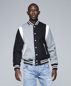Todd Snyder + Golden Bear Wool Cocktail Varsity Bomber