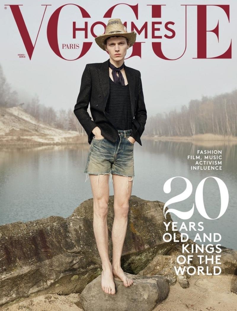 Sur Le Sable: Daan & Thomas for Vogue Hommes Paris