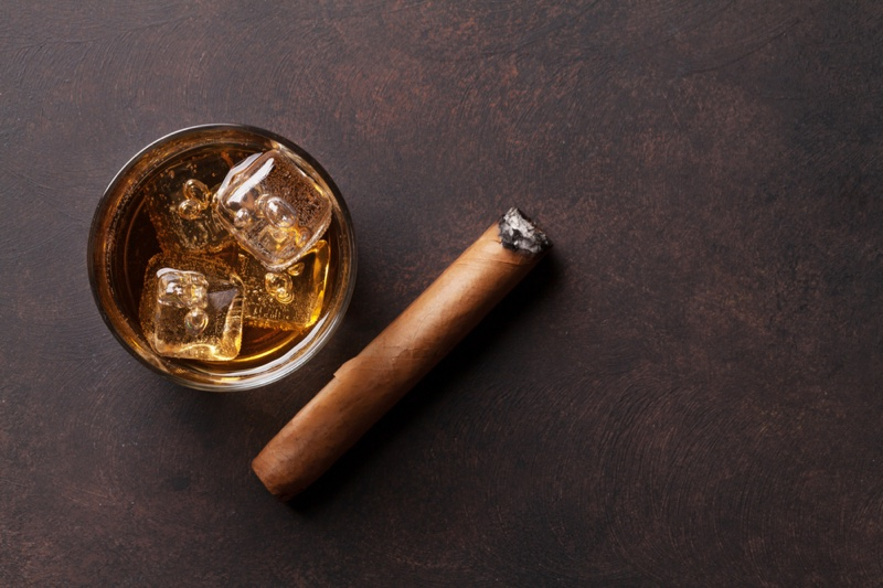 Whiskey Drink Cigar