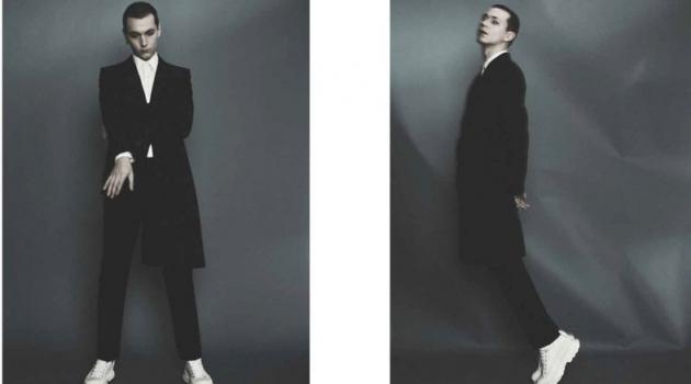 Yuri Models Alexander McQueen for Esquire Kazakhstan