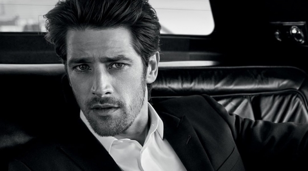 Vinnie Woolston reunites with Yves Saint Laurent for the new L'Homme Le Parfum fragrance campaign.