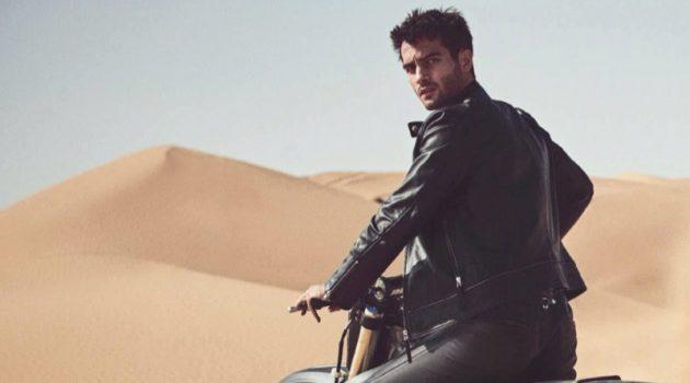 Easy Rider: Aleksandar for GQ Germany