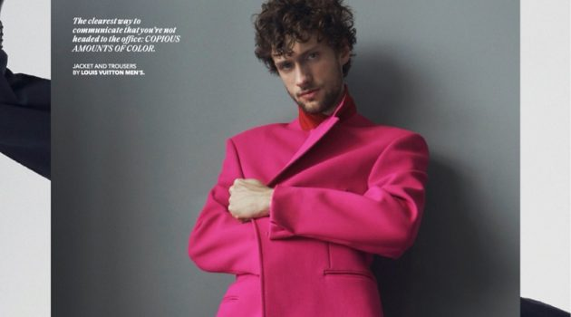Alix Goes Sartorial in Fresh Fits for Esquire