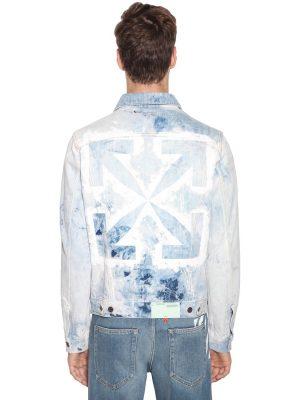Arrow Slim Cotton Denim Jean Jacket