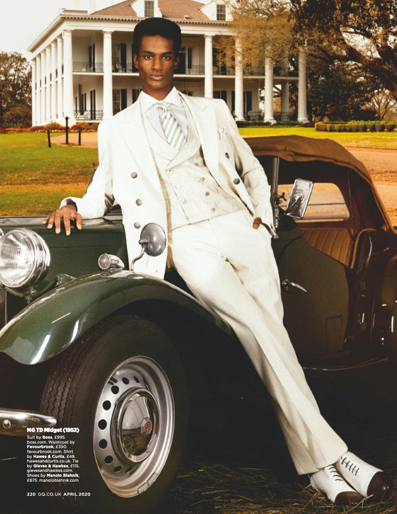 Fast Fashion: British GQ Marries Cars & Style