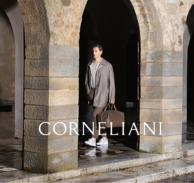 Corneliani Delivers Refined Style with Spring '20 Campaign