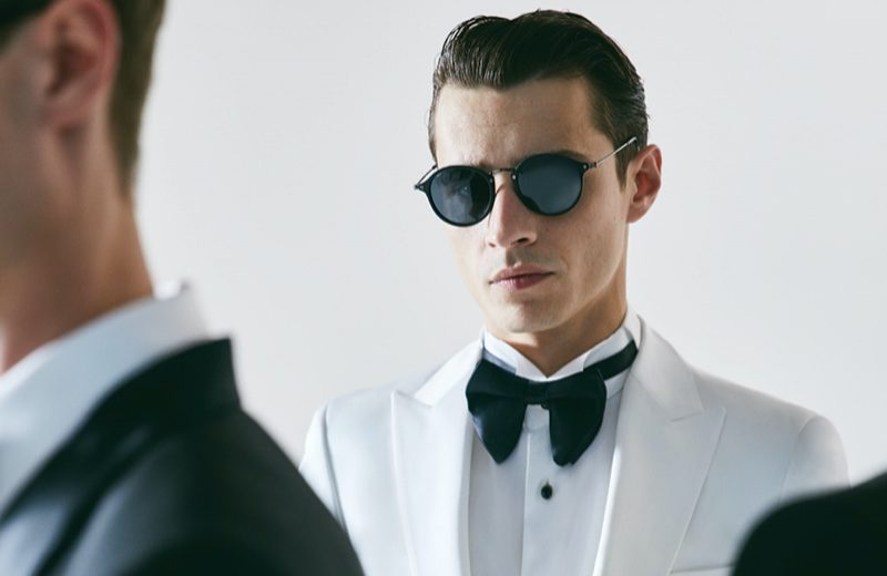 French model Adrien Sahores is a dapper vision for Damat Tween's spring-summer 2020 campaign.