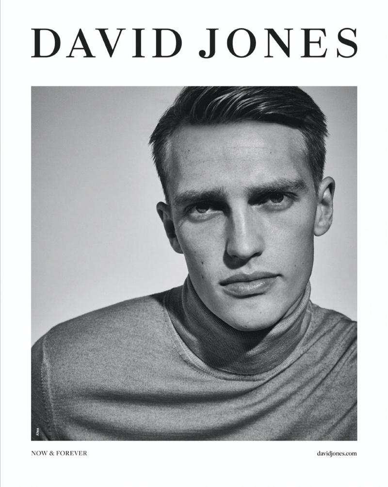 David Jones enlists Victor Nylander as the star of its spring-summer 2020 campaign.