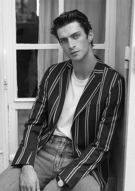 De Fursac Proposes Classic Menswear with Spring '20 Collection