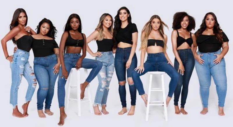 Fashion Nova Jeans Models Diverse
