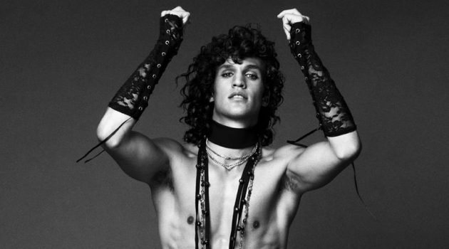 Francisco Channels His Inner Rock Star for L'Officiel Hommes Poland