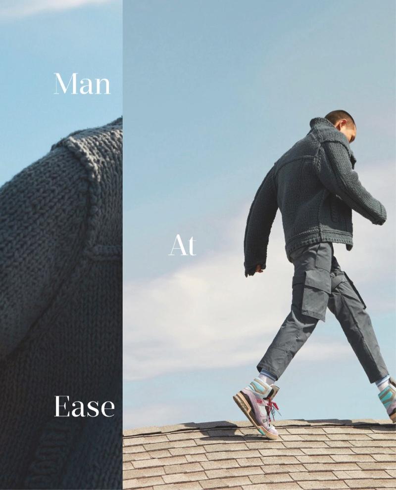 Man at Ease: Evan & Zhang for GQ Taiwan