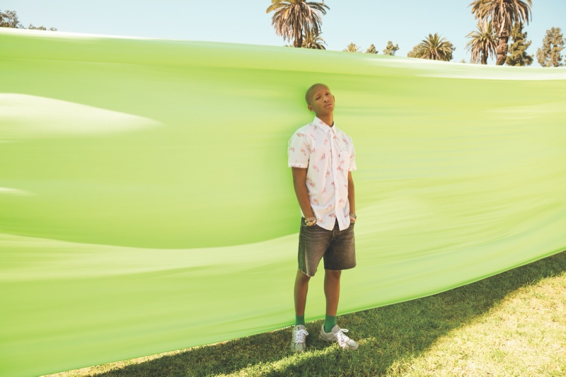Embracing festival style, Jaden Smith stars in Levi's 2020 festival campaign.