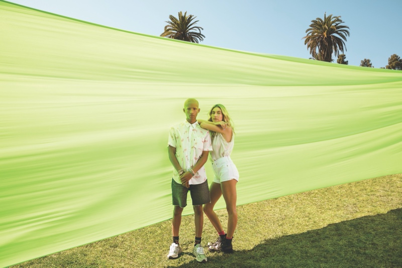Jaden Smith Embraces Festival Style for Levi's Campaign