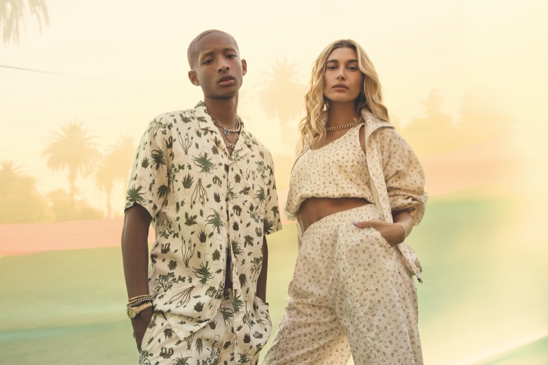 Levi's enlists Jaden Smith and Hailey Baldwin Bieber as the stars of its 2020 festival campaign.