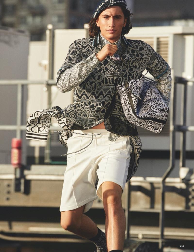 New York City Boy: James for British GQ Style