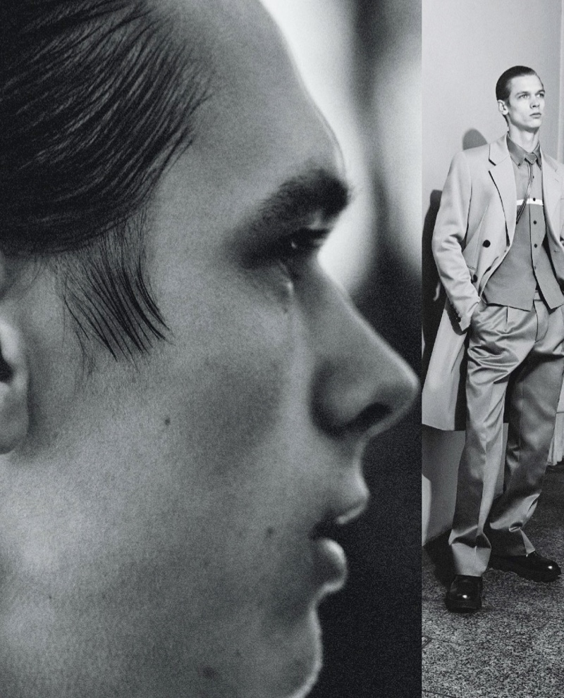 Remixed: Kristers Dons Prada for ICON Italia
